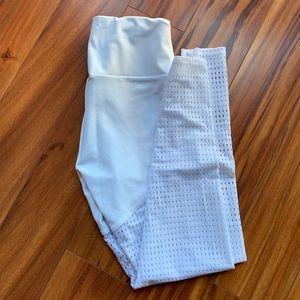 White Onzie Yoga Pants
